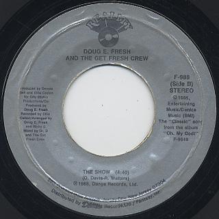 Doug E. Fresh And The Get Fresh Crew / Keep Risin' To The Top (7