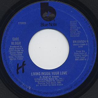 Earl Klugh / Living Inside Your Love (7