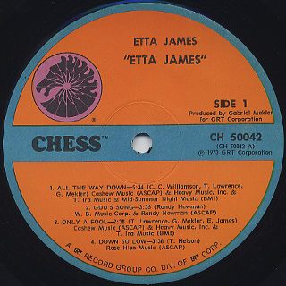 Etta James / S.T. label