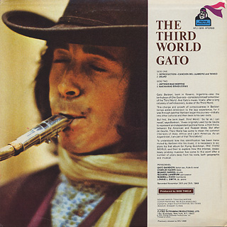 Gato Barbieri / The Third World back