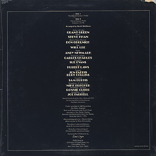 Grant Green / The Main Attraction back