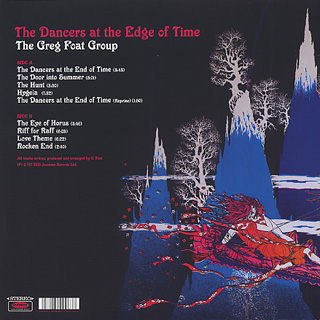 Greg Foat Group / The Dancers At The Edge Of Time back