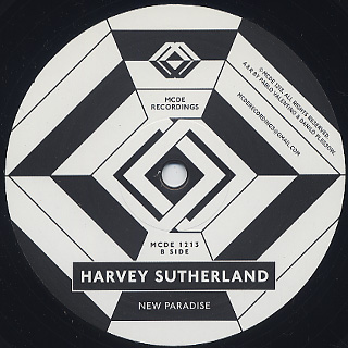 Harvey Sutherland / Bermuda EP back