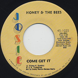 Honey & The Bees / Love Can Turn To Hate back
