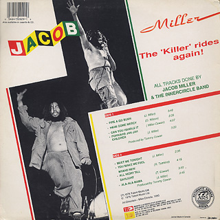 Jacob Miller / The Killer Rides back