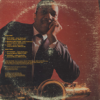 John Coltrane / Sun Ship back