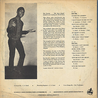 Ken Boothe / Mr. Rock Steady back