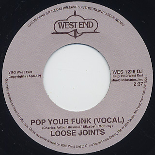 Loose Joints / Pop Your Funk (7