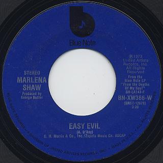 Marlena Shaw / Easy Evil