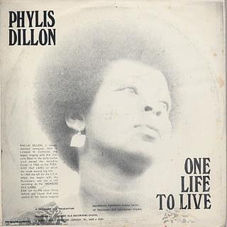 Phyllis Dillon One Life To Live Lp Treasure Isle 中古