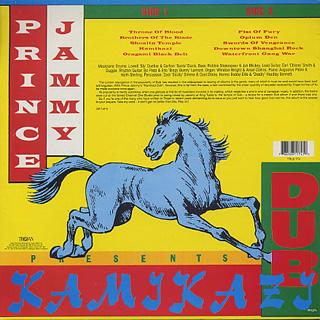 Prince Jammy / Kamikazi Dub back