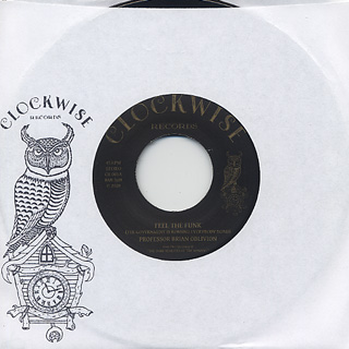 Professor Brian Oblivion / Feel The Funk label