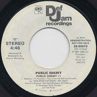 Public Enemy / Public Enemy #1 (7
