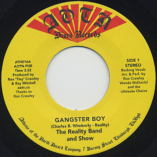 Reality Band And Show / Gangster Boy
