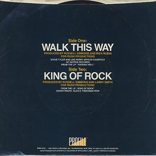 Run D.M.C. / Walk This Way back
