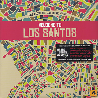 Alchemist And Oh No / Present Welcome To Los Santos front
