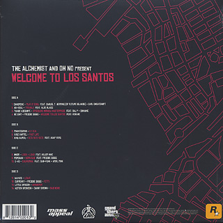 Alchemist And Oh No / Present Welcome To Los Santos back