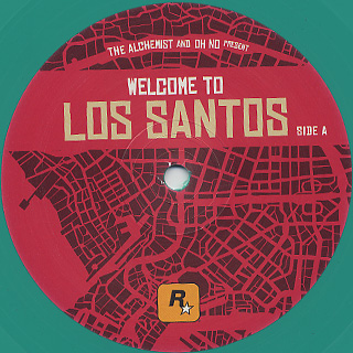 Alchemist And Oh No / Present Welcome To Los Santos label