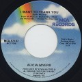 Alicia Myers / I Want To Thank You (7