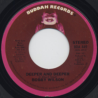 Bobby Wilson / Deeper And Deeper front