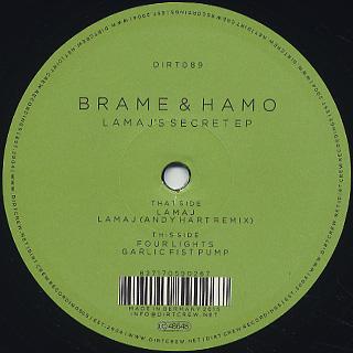 Brame & Hamo / Lamaj's Secret EP back