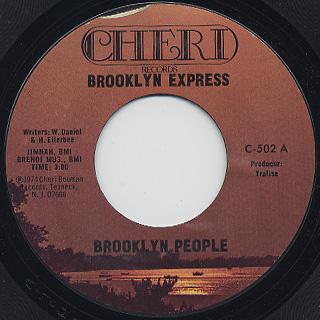 Brooklyn People / Brooklyn Express back