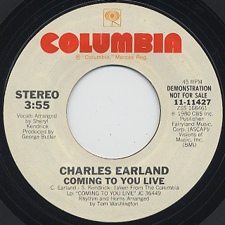 Charles Earland / Coming To You Live (7