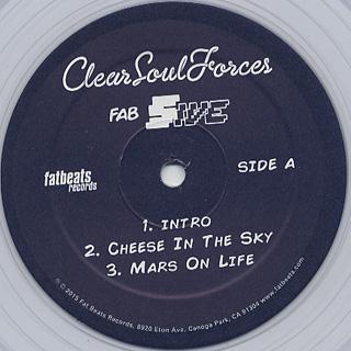Clear Soul Forces / Fab Five label