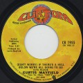 Curtis Mayfield / (Don't Worry) If There's A Hell  Below We're All Going To Go c/w Makings Of You