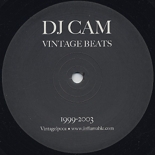 DJ Cam / Vintage Beats 1999-2003 label