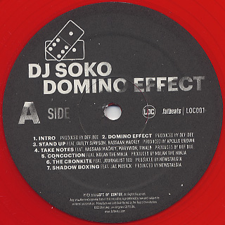 DJ Soko / Domino Effect label