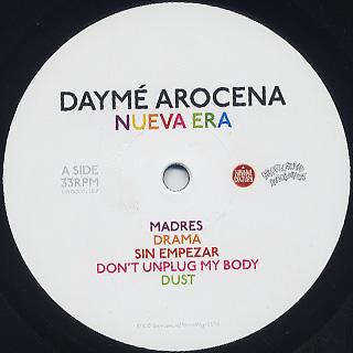 Dayme Arocena / Nueva Era label