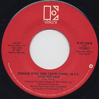 Donald Byrd and 125th Street, N.Y.C. / Love Has Come Around (7