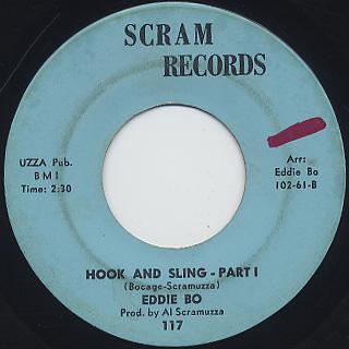 Eddie Bo / Hook And Sling (45)