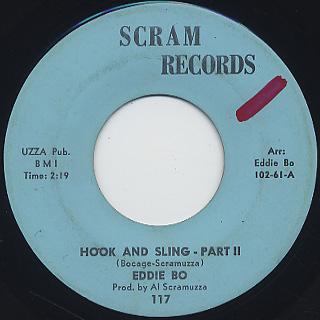 Eddie Bo / Hook And Sling (45) back