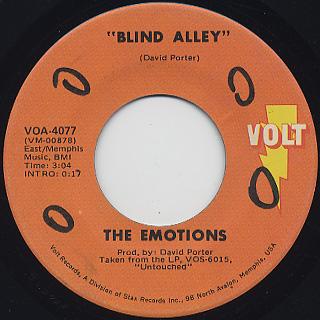 Emotions / Blind Alley (7
