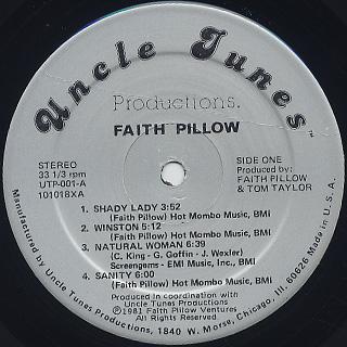 Faith Pillow / Faith Pillow label