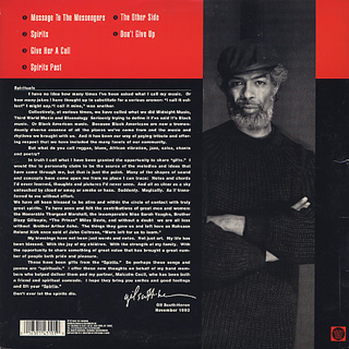 Gil Scott-Heron / Spirits back