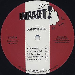 Impact All Stars, Clive Chin / Randy's Dub label
