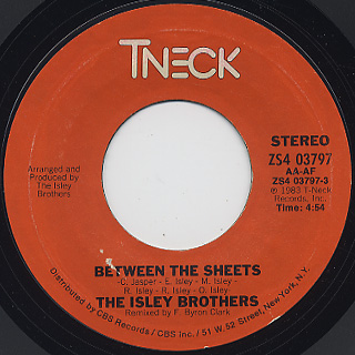 Isley Brothers / Between The Sheets (7