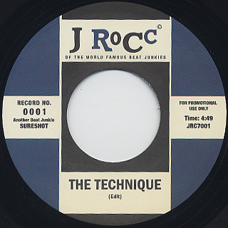 J Rocc / Funky President Edits Vol. 1