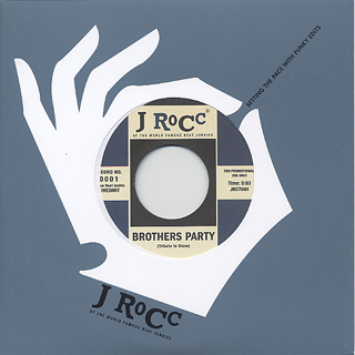J Rocc / Funky President Edits Vol. 1 label