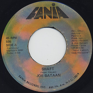 Joe Bataan / Shaft