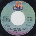 John Byrd / I Can't Stop Loving You, Girl