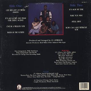 L.V. Johnson / Gold And Mean back
