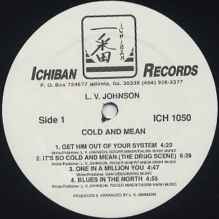 L.V. Johnson / Gold And Mean label