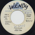 Linda Lewis / It's In His Kiss c/w Walk About
