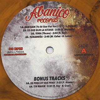 Los Kintos / Vol III label