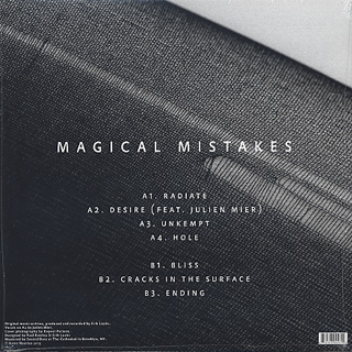 Magical Mistakes / Cracks In The Surface back