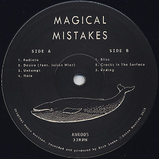 Magical Mistakes / Cracks In The Surface label